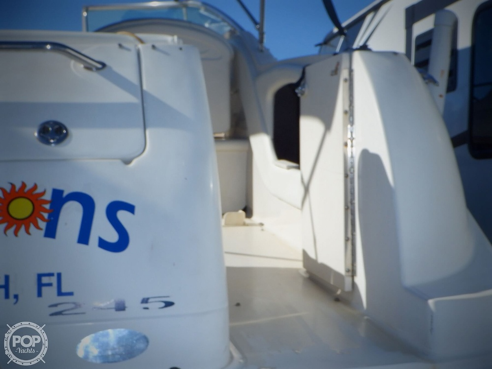 2003 Sea Ray boat for sale, model of the boat is 245 Weekender & Image # 18 of 40