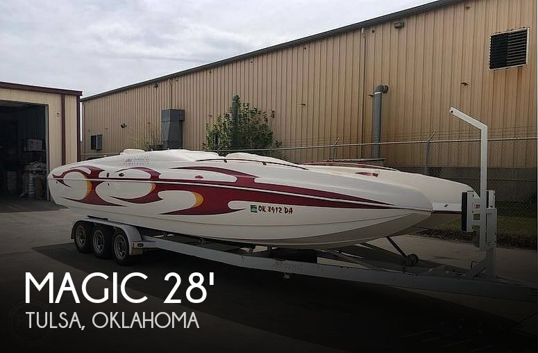 Used Magic Boats For Sale by owner | 2003 Magic 28'