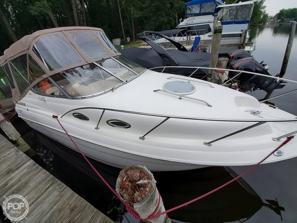 2005 Larson boat for sale, model of the boat is 240 Cabrio & Image # 8 of 40