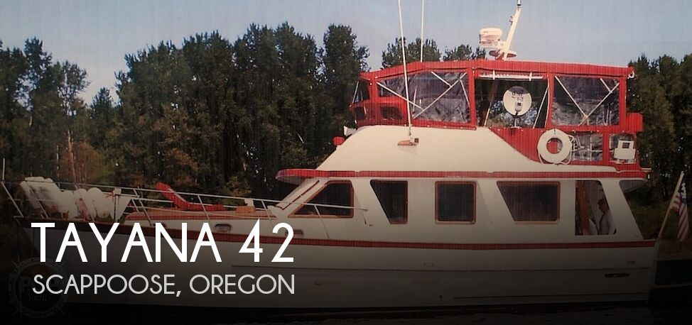 Used Power boats For Sale in Oregon by owner | 1979 Tayana 42 Europa Sedan Trawler