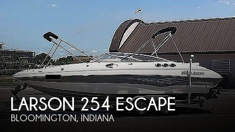2007 Larson boat for sale, model of the boat is 254 ESCAPE & Image # 1 of 40