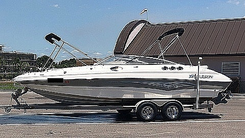 2007 Larson boat for sale, model of the boat is 254 ESCAPE & Image # 2 of 40