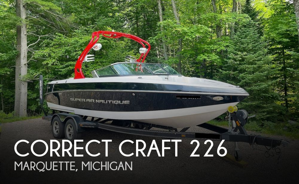 2011 Correct Craft boat for sale, model of the boat is Super Air Nautique 226 & Image # 1 of 28