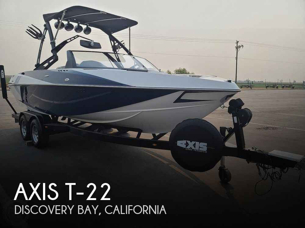2014 Axis boat for sale, model of the boat is T-22 & Image # 1 of 40