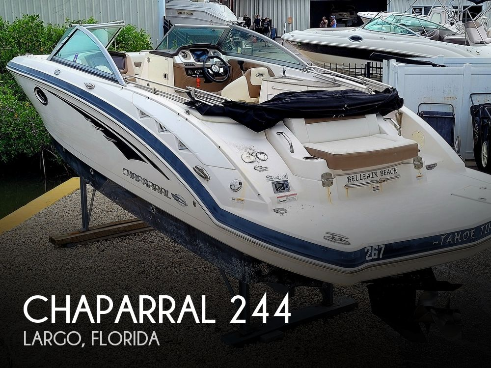 2014 Chaparral boat for sale, model of the boat is 244 Sunesta & Image # 1 of 40