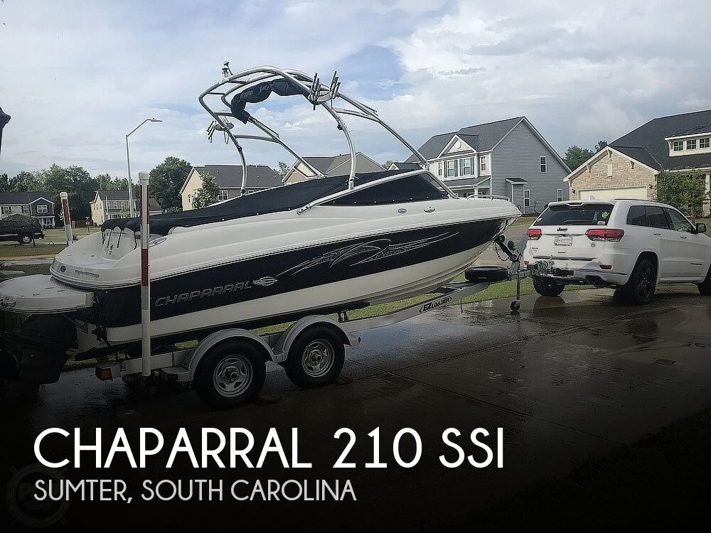 2007 Chaparral boat for sale, model of the boat is 210 SSi & Image # 1 of 40