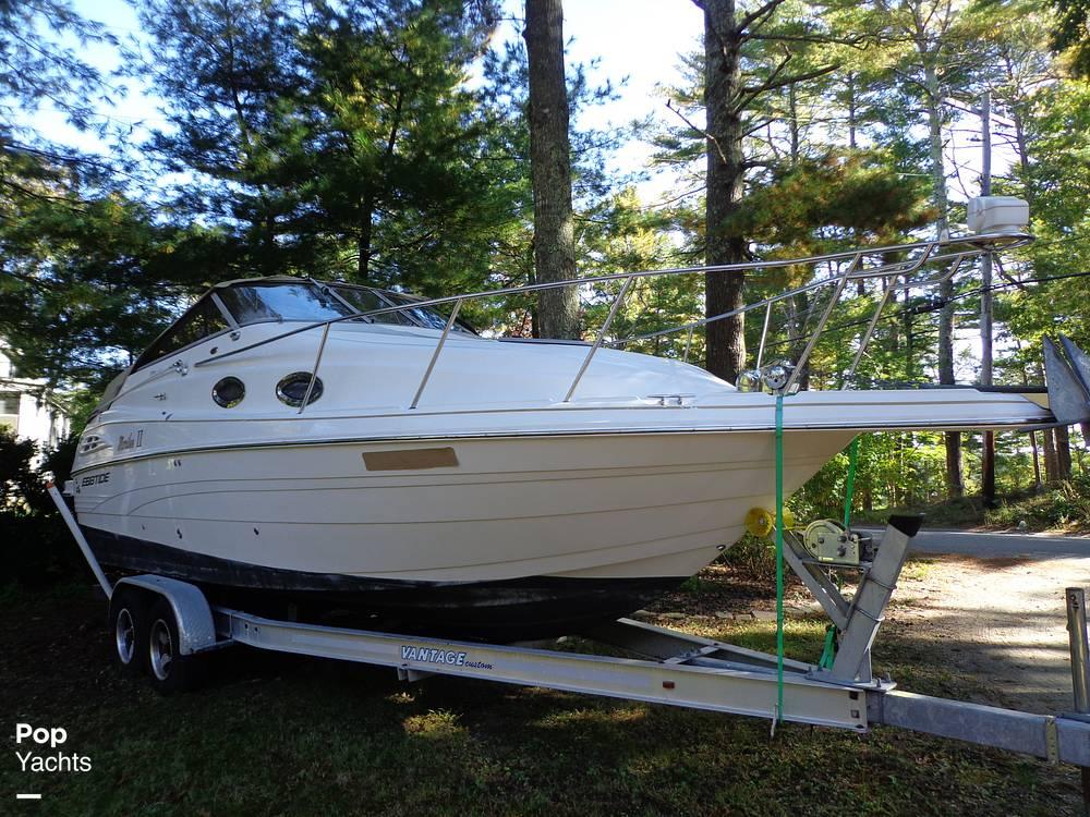 2004 Ebbtide boat for sale, model of the boat is Mystique 2500 Mid Cabin & Image # 2 of 40