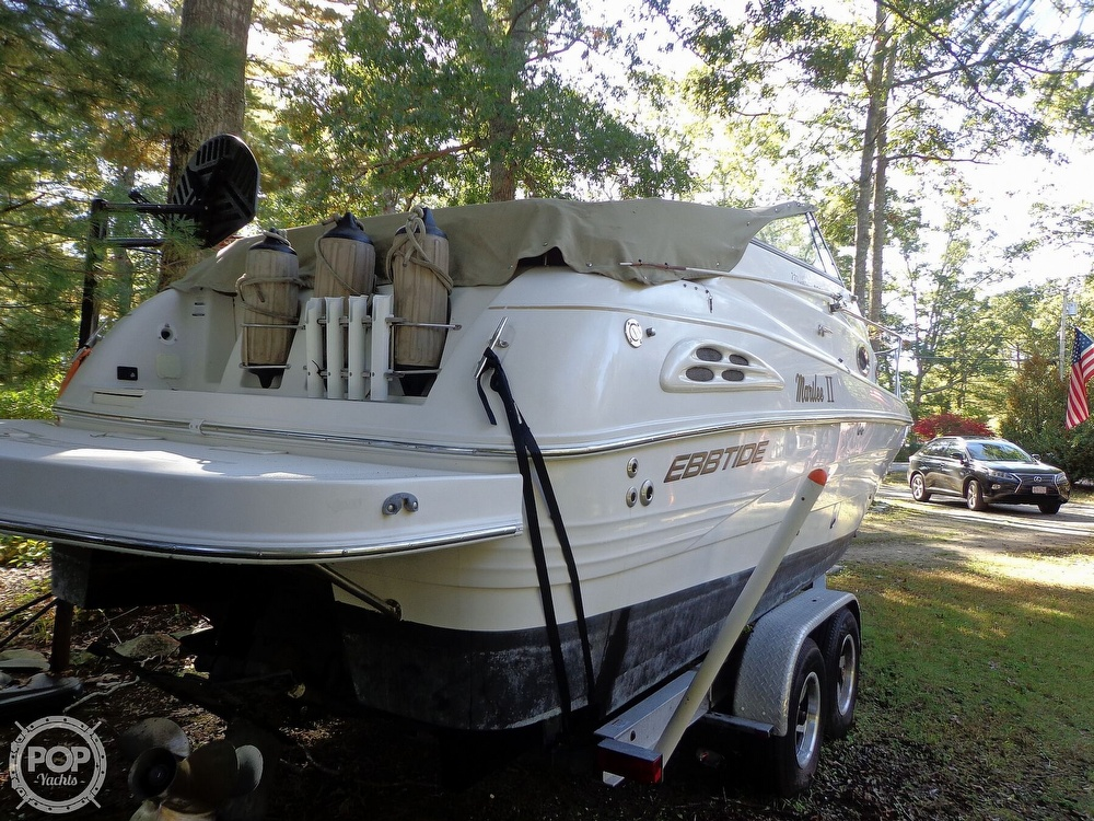 2004 Ebbtide boat for sale, model of the boat is Mystique 2500 Mid Cabin & Image # 8 of 40