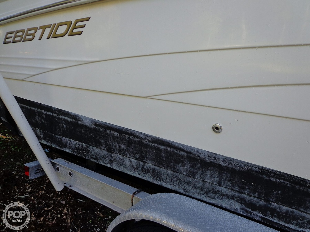 2004 Ebbtide boat for sale, model of the boat is Mystique 2500 Mid Cabin & Image # 13 of 40