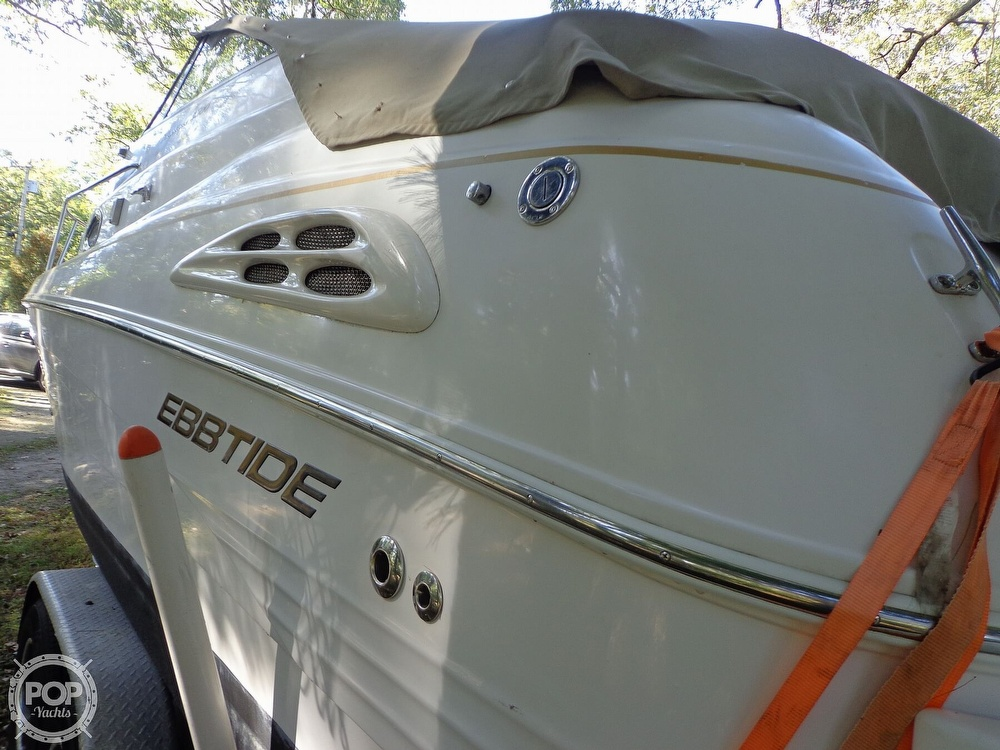 2004 Ebbtide boat for sale, model of the boat is Mystique 2500 Mid Cabin & Image # 25 of 40