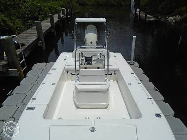 2005 Carolina Skiff boat for sale, model of the boat is Sea Chaser 180 Flats Series & Image # 10 of 40