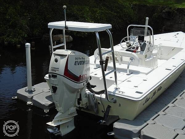 2005 Carolina Skiff boat for sale, model of the boat is Sea Chaser 180 Flats Series & Image # 12 of 40