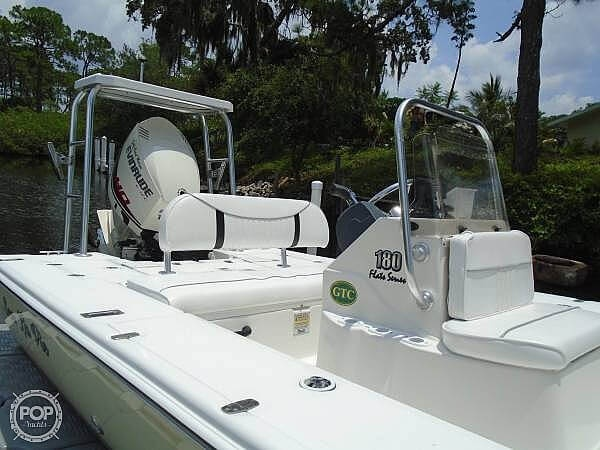 2005 Carolina Skiff boat for sale, model of the boat is Sea Chaser 180 Flats Series & Image # 15 of 40