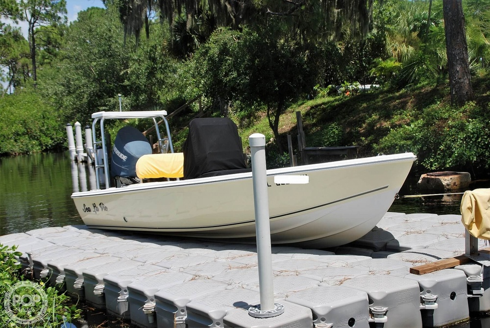 2005 Carolina Skiff boat for sale, model of the boat is Sea Chaser 180 Flats Series & Image # 17 of 40