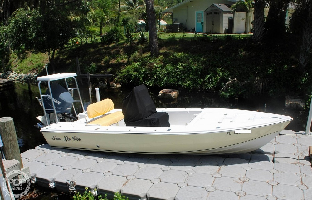 2005 Carolina Skiff boat for sale, model of the boat is Sea Chaser 180 Flats Series & Image # 18 of 40