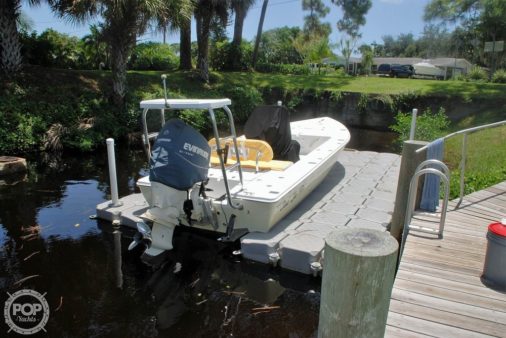 2005 Carolina Skiff boat for sale, model of the boat is Sea Chaser 180 Flats Series & Image # 19 of 40