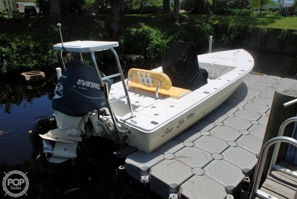 2005 Carolina Skiff boat for sale, model of the boat is Sea Chaser 180 Flats Series & Image # 20 of 40