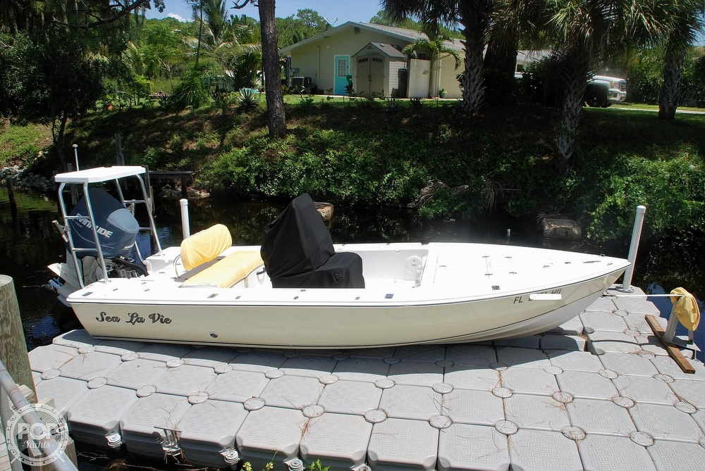 2005 Carolina Skiff boat for sale, model of the boat is Sea Chaser 180 Flats Series & Image # 5 of 40