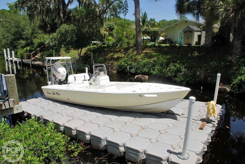 2005 Carolina Skiff boat for sale, model of the boat is Sea Chaser 180 Flats Series & Image # 21 of 40