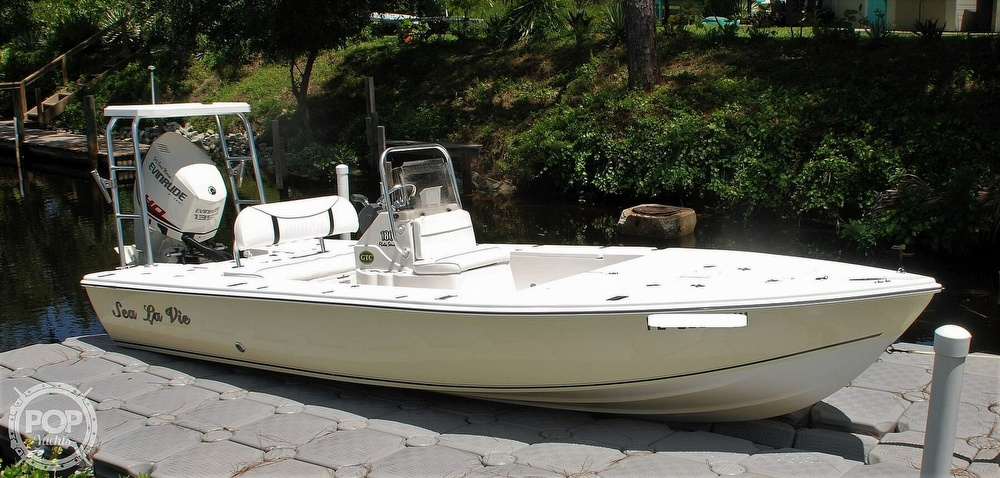 2005 Carolina Skiff boat for sale, model of the boat is Sea Chaser 180 Flats Series & Image # 22 of 40