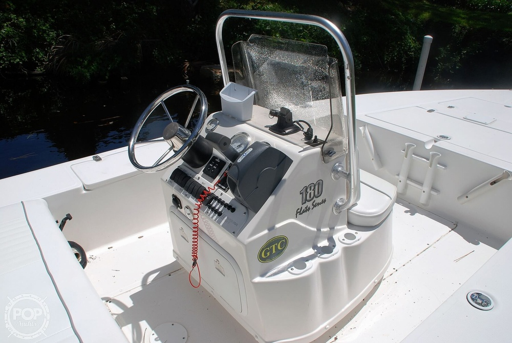 2005 Carolina Skiff boat for sale, model of the boat is Sea Chaser 180 Flats Series & Image # 26 of 40