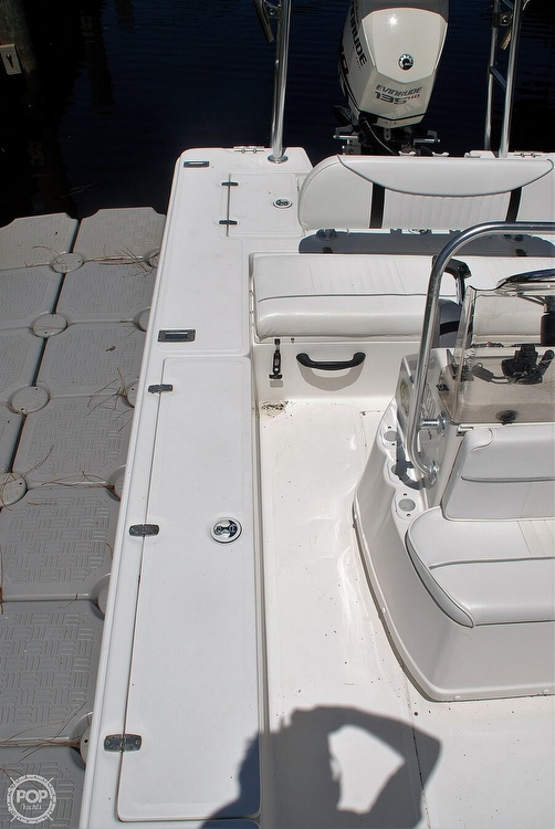 2005 Carolina Skiff boat for sale, model of the boat is Sea Chaser 180 Flats Series & Image # 38 of 40