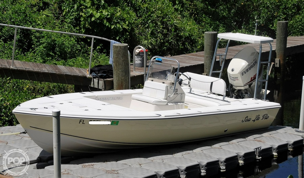 2005 Carolina Skiff boat for sale, model of the boat is Sea Chaser 180 Flats Series & Image # 3 of 40