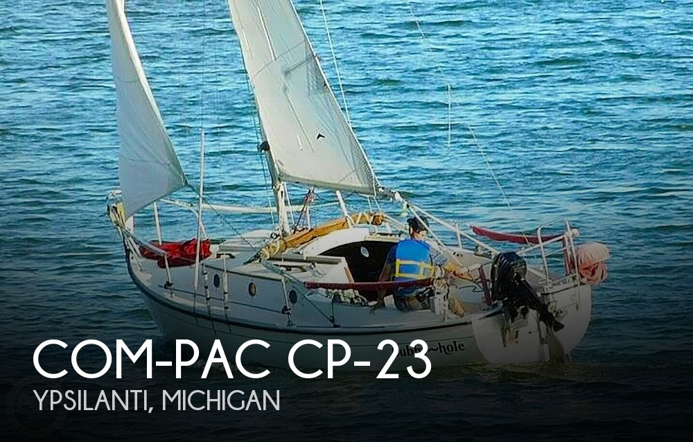 1981 Com-Pac boat for sale, model of the boat is CP-23 & Image # 1 of 37