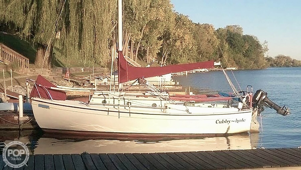 1981 Com-Pac boat for sale, model of the boat is CP-23 & Image # 2 of 37