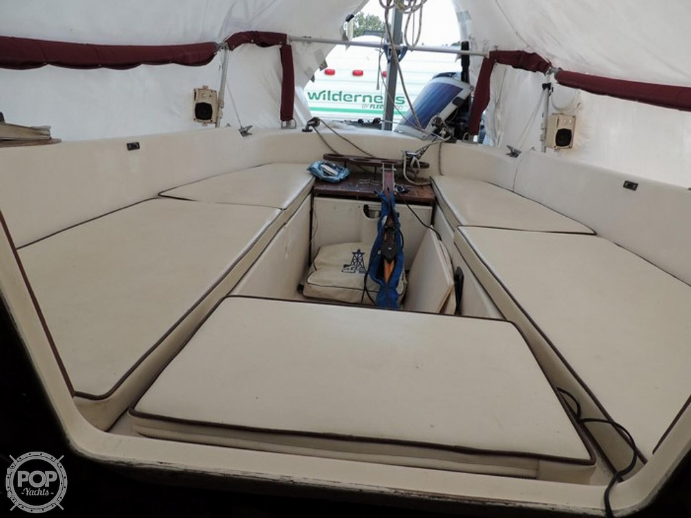 1981 Com-Pac boat for sale, model of the boat is CP-23 & Image # 19 of 37