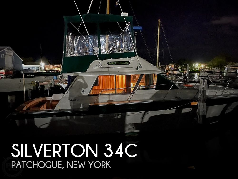 Used Silverton Boats For Sale in New York by owner   1984 Silverton 34c