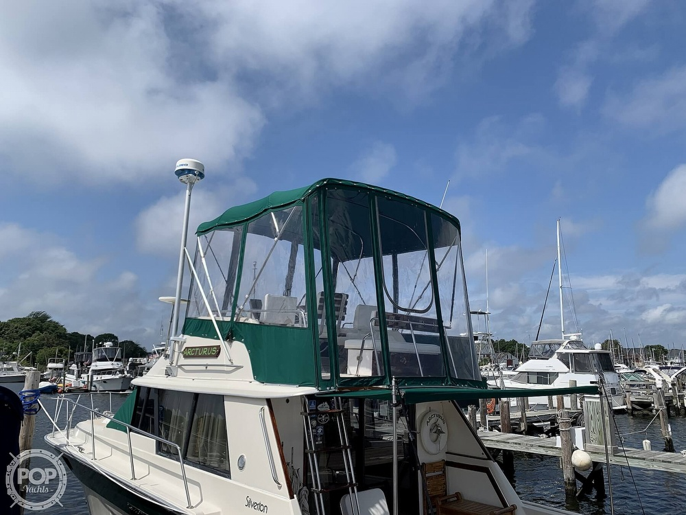 1984 Silverton boat for sale, model of the boat is 34 Convertible & Image # 3 of 40