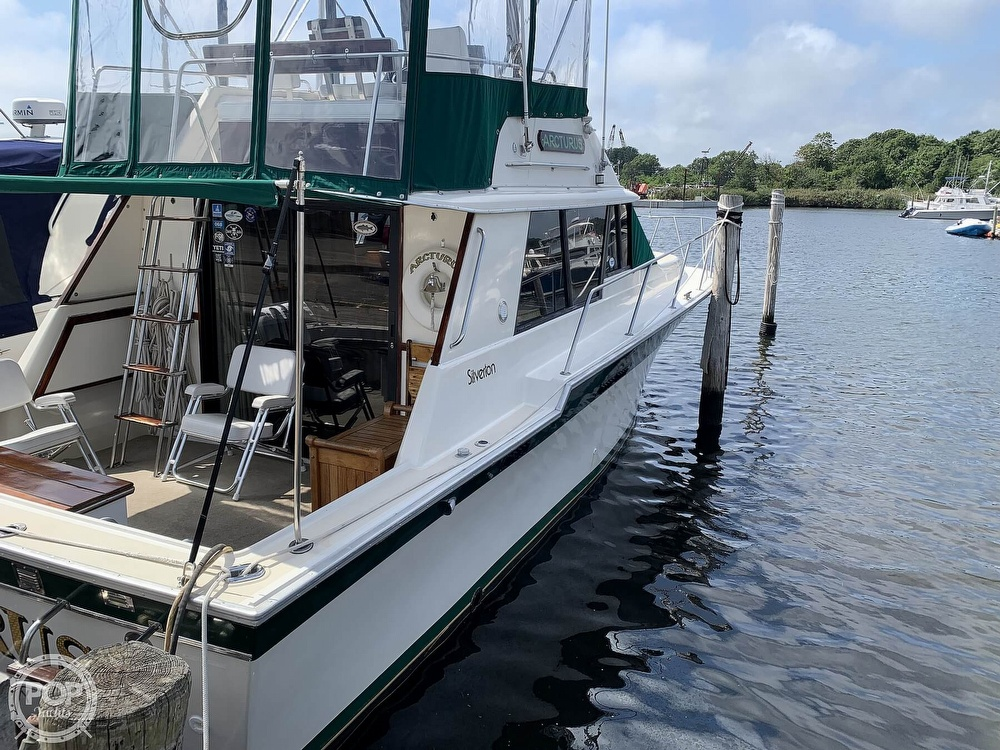1984 Silverton boat for sale, model of the boat is 34 Convertible & Image # 6 of 40