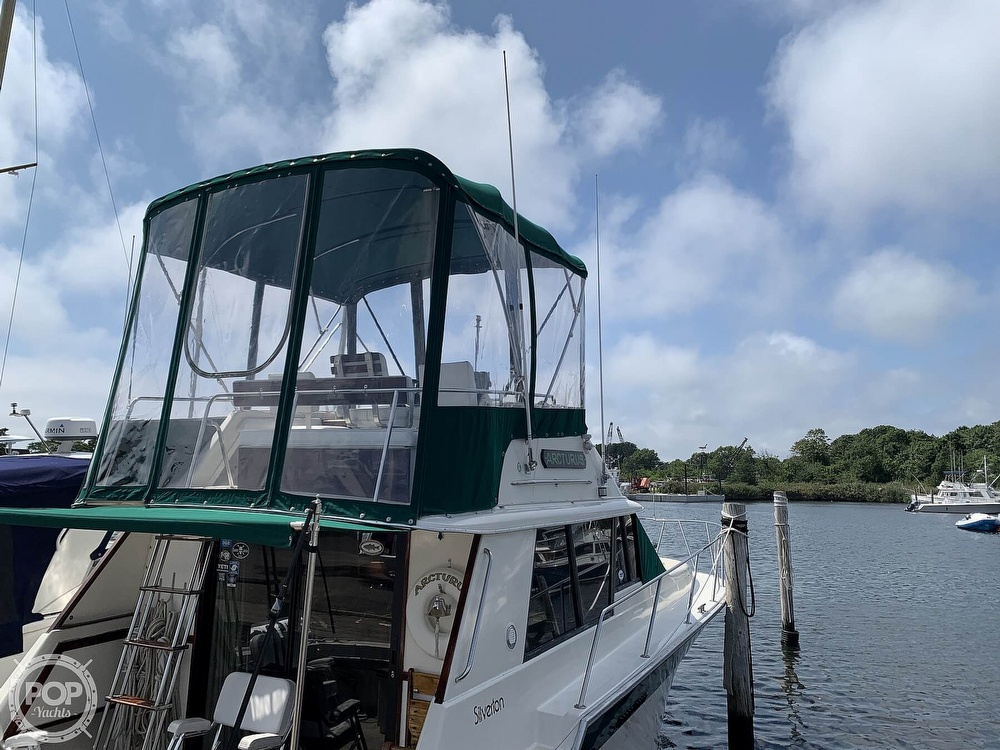 1984 Silverton boat for sale, model of the boat is 34 Convertible & Image # 7 of 40