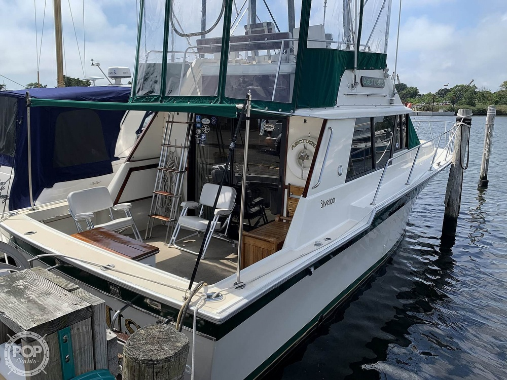 1984 Silverton boat for sale, model of the boat is 34 Convertible & Image # 2 of 40