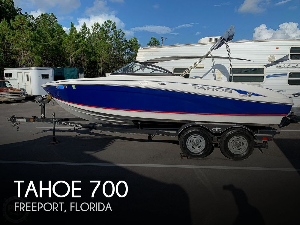 2018 Tahoe boat for sale, model of the boat is 700 & Image # 1 of 40
