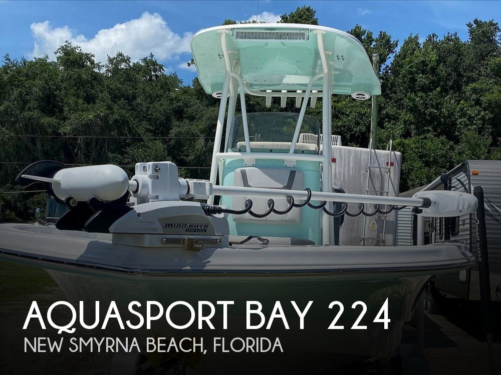 2021 Aquasport boat for sale, model of the boat is Bay 224 & Image # 1 of 7