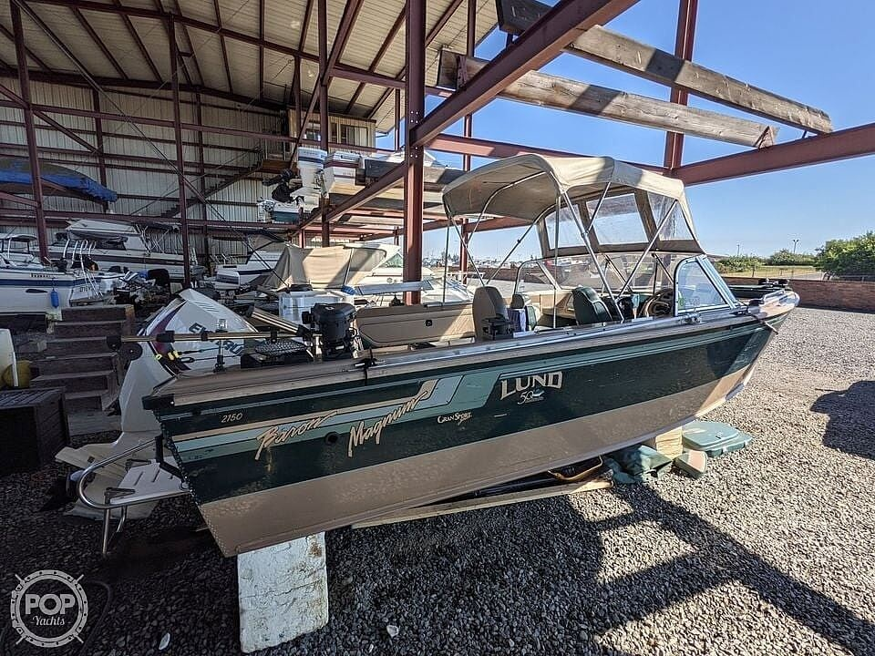 1998 Lund boat for sale, model of the boat is 2150 Baron Magnum & Image # 20 of 40