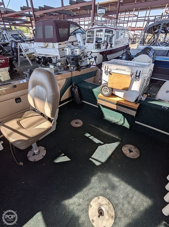 1998 Lund boat for sale, model of the boat is 2150 Baron Magnum & Image # 26 of 40