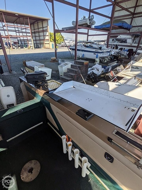 1998 Lund boat for sale, model of the boat is 2150 Baron Magnum & Image # 30 of 40