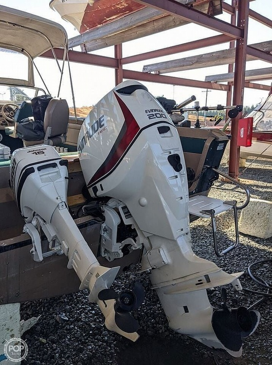 1998 Lund boat for sale, model of the boat is 2150 Baron Magnum & Image # 5 of 40
