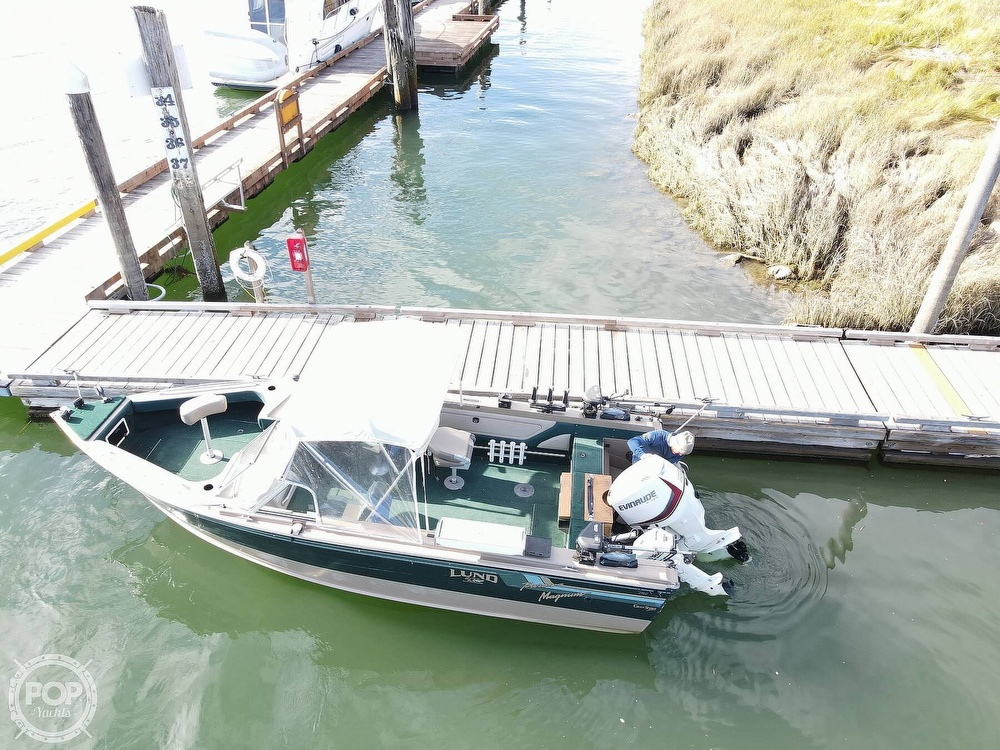 1998 Lund boat for sale, model of the boat is 2150 Baron Magnum & Image # 13 of 40