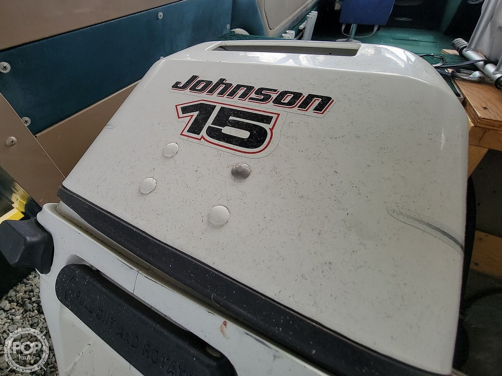1998 Lund boat for sale, model of the boat is 2150 Baron Magnum & Image # 9 of 40