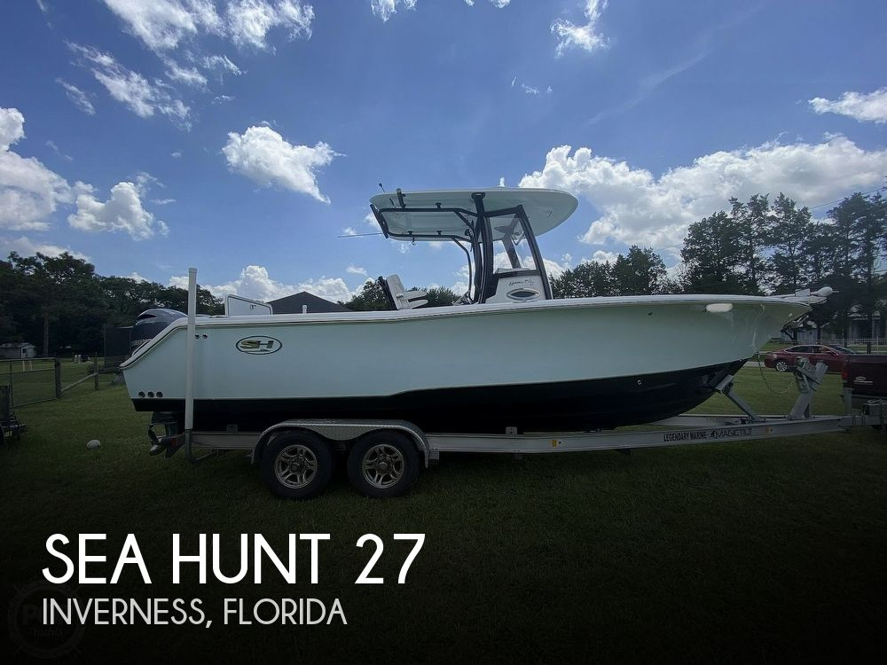 2018 Sea Hunt boat for sale, model of the boat is GameFish 27 & Image # 1 of 40