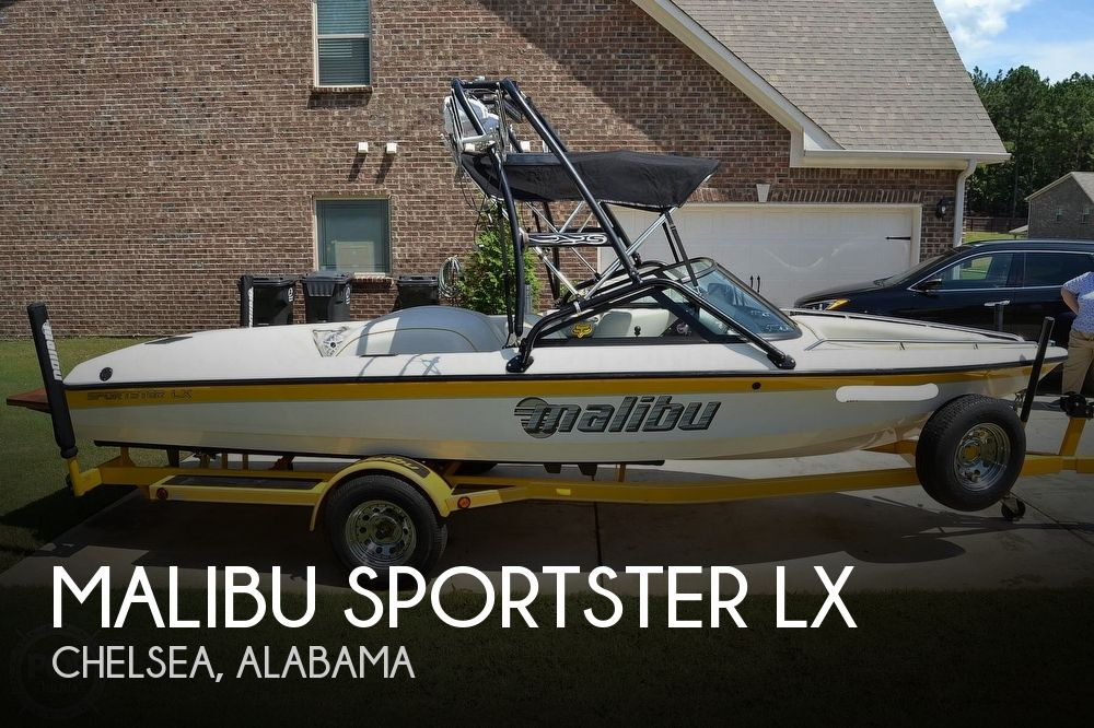 2000 Malibu boat for sale, model of the boat is Sportster LX & Image # 1 of 40