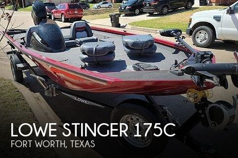 2018 Lowe boat for sale, model of the boat is Stinger 175C & Image # 1 of 40
