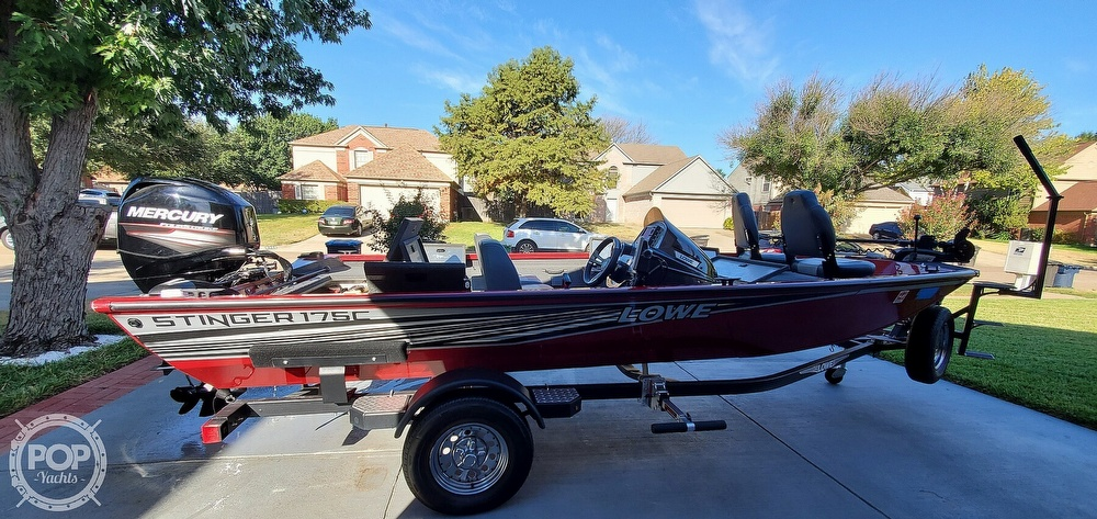2018 Lowe boat for sale, model of the boat is Stinger 175C & Image # 5 of 40