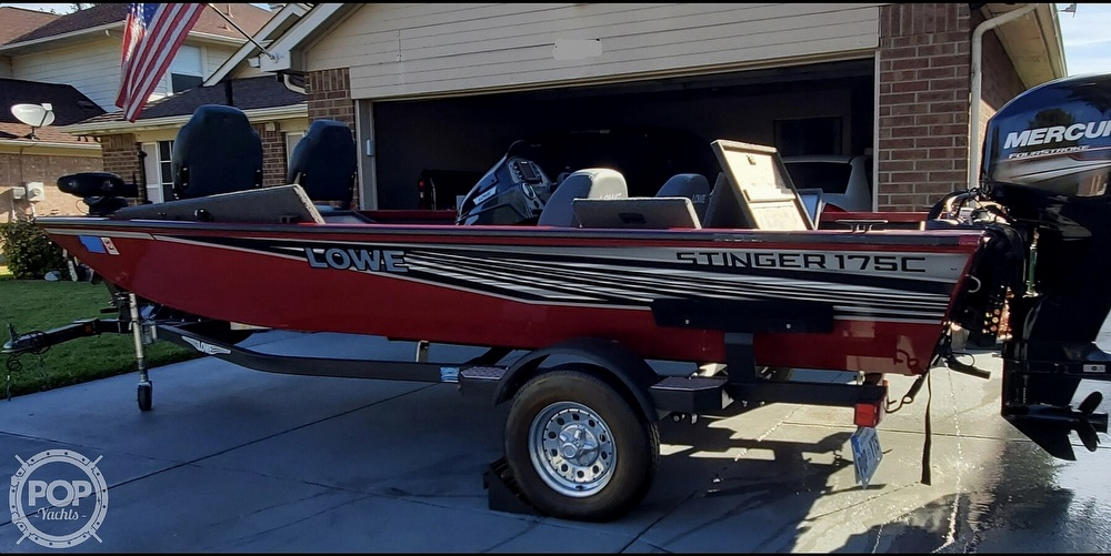2018 Lowe boat for sale, model of the boat is Stinger 175C & Image # 7 of 40