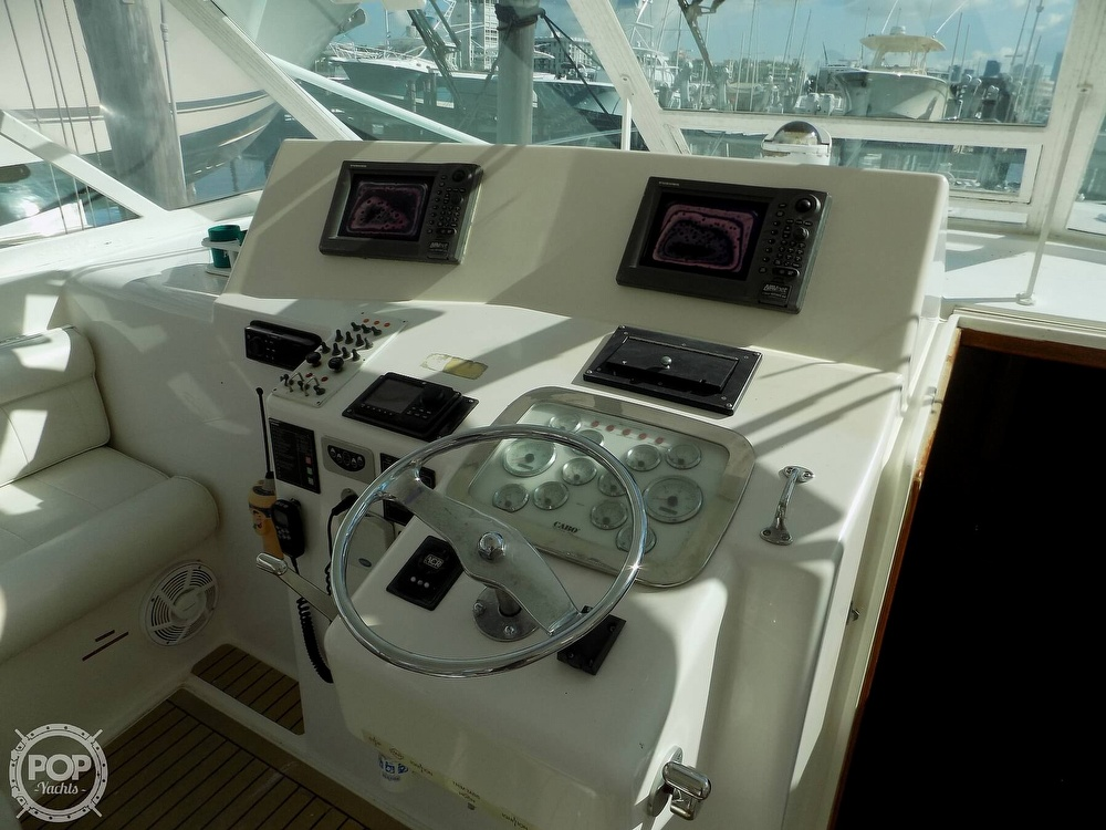 2000 Cabo boat for sale, model of the boat is 45 Express & Image # 9 of 40