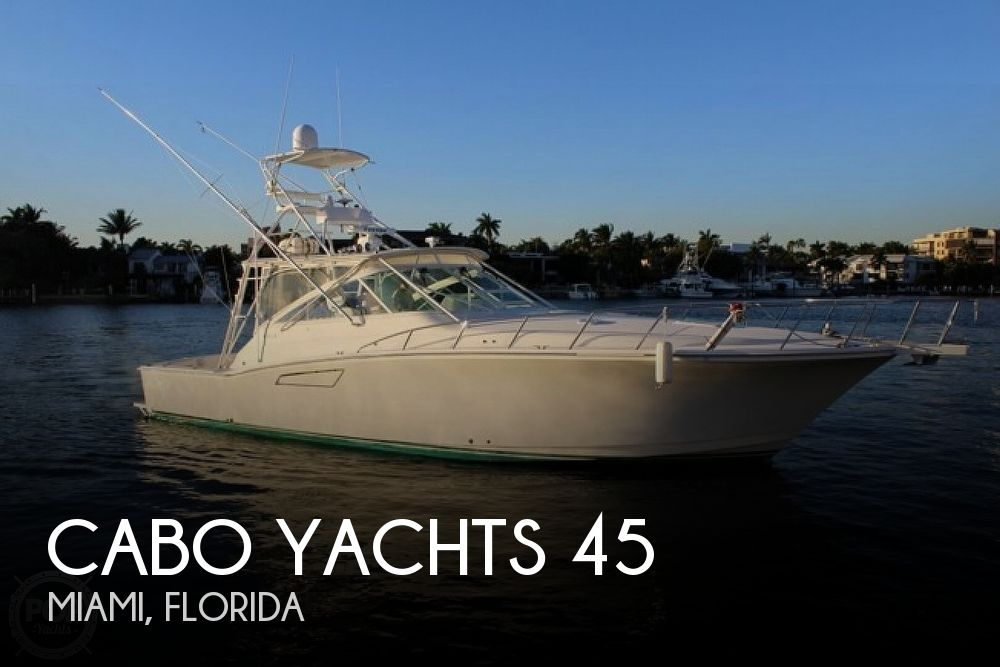 2000 Cabo boat for sale, model of the boat is 45 Express & Image # 1 of 40